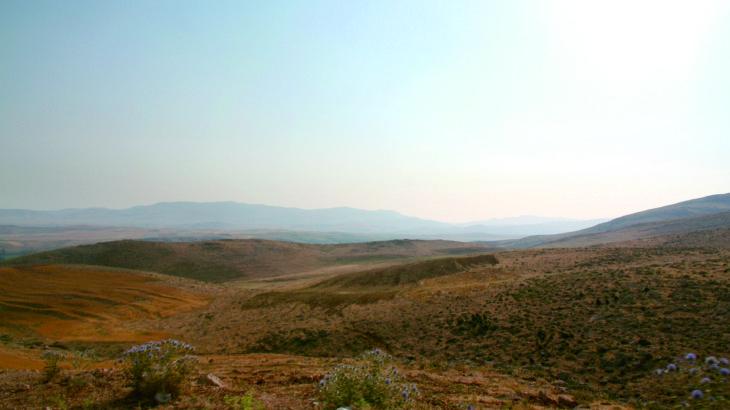 ザクロス山麓の荒野